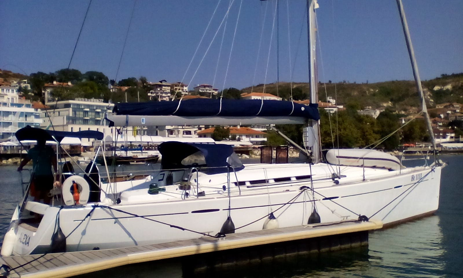 Charter 45' Beneteau First Cruising Monohull In Kavala, Greece