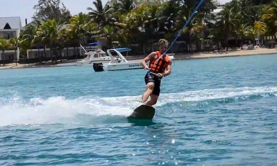 Enjoy Wakeboarding In Mahébourg, Mauritius