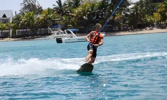 Enjoy Wakeboarding In Mahébourg, Mauritius