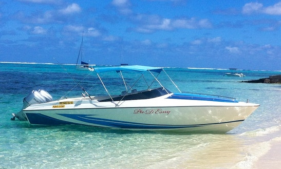 Enjoy Fishing In Mahébourg, Mauritius On Cuddy Cabin