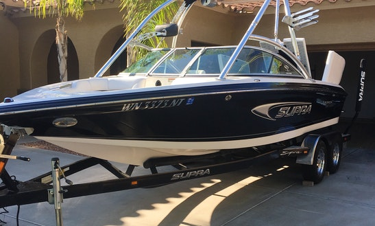 Rent The 22' Supra Launch Ssv Wakeboard Boat In Gilbert, Arizona