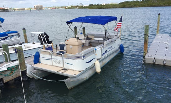 Rent This 10 People Pontoon In New Smyrna Beach, Florida