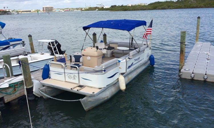 Rent this 10 People Pontoon in New Smyrna Beach, Florida