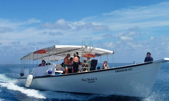 Charter 53' Reef Watch 6 Motor Boat In Kuramathi, Maldives