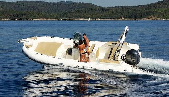 Charter 23' Capelli Tempest 700 Rigid Inflatable Boat In Knokke-heist, Belgium
