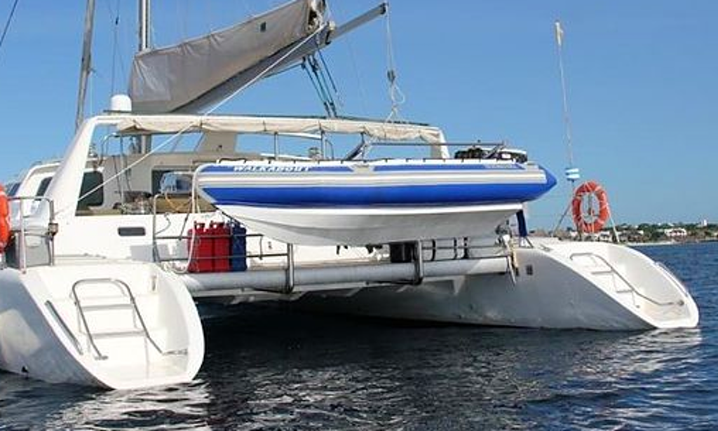 Charter 50 Walkabout Cruising Catamaran In Zanzibar Tanzania