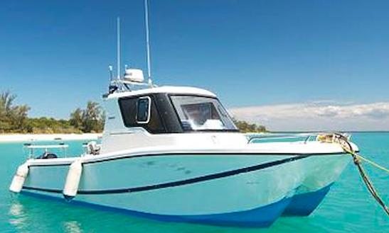 Enjoy Fishing In Zanzibar, Tanzania On 28' Saangue Power Catamaran