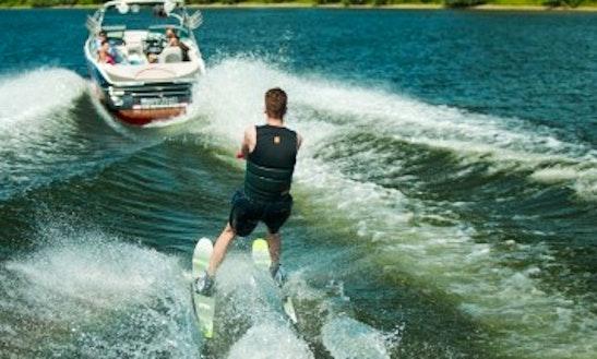 Enjoy Water Skiing In Knokke-heist, Belgium