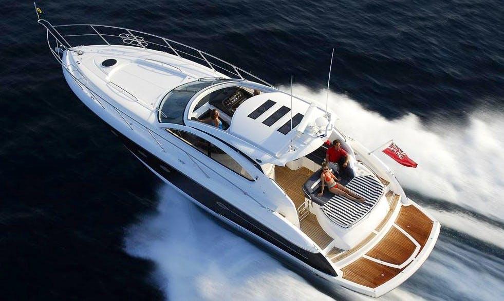 Skippered Charter the Princess V45 Motor Yacht in Geneva, Switzerland