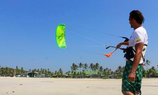 Enjoy Kitesurfing Rentals And Lessons At Ngwe Saung Beach In Ayeyarwaddy, Myanmar