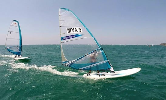 Enjoy Windsurfing Rentals And Lessons At Ngwe Saung Beach In Ayeyarwaddy, Myanmar