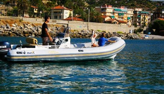 Rent 19' Bwa 55 Rigid Inflatable Boat In Bordighera, Liguria