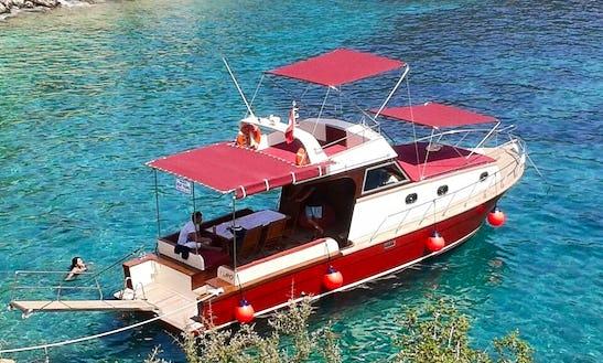 Captain Tours On Beautiful Motor Yacht In Antalya, Turkey
