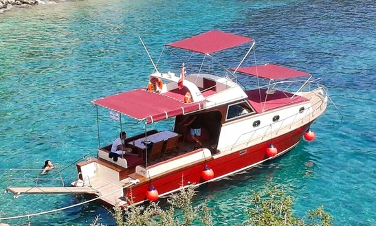 Captain Tours On Beautiful Motor Yacht In Antalya, Turkey
