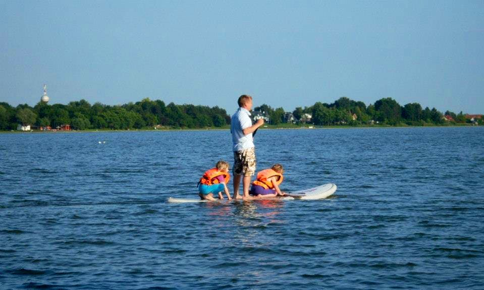Stand Up Paddleboard Rentals in Palić, Serbia