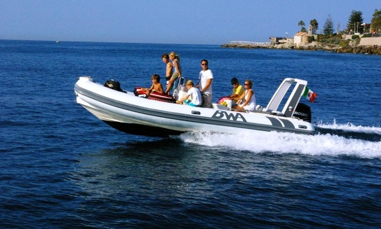 Rent 22' Bwa Six-fifty Rigid Inflatable Boat In Bordighera, Liguria