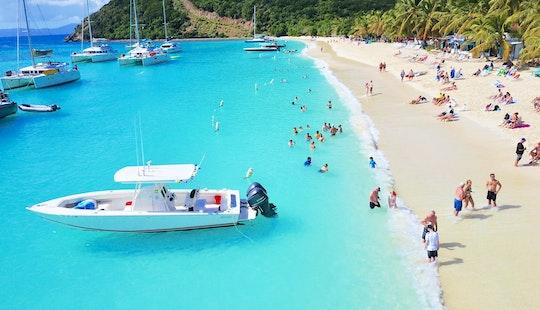 33' Jupiter Center Console Rental In St. Thomas, U.s. Virgin Islands
