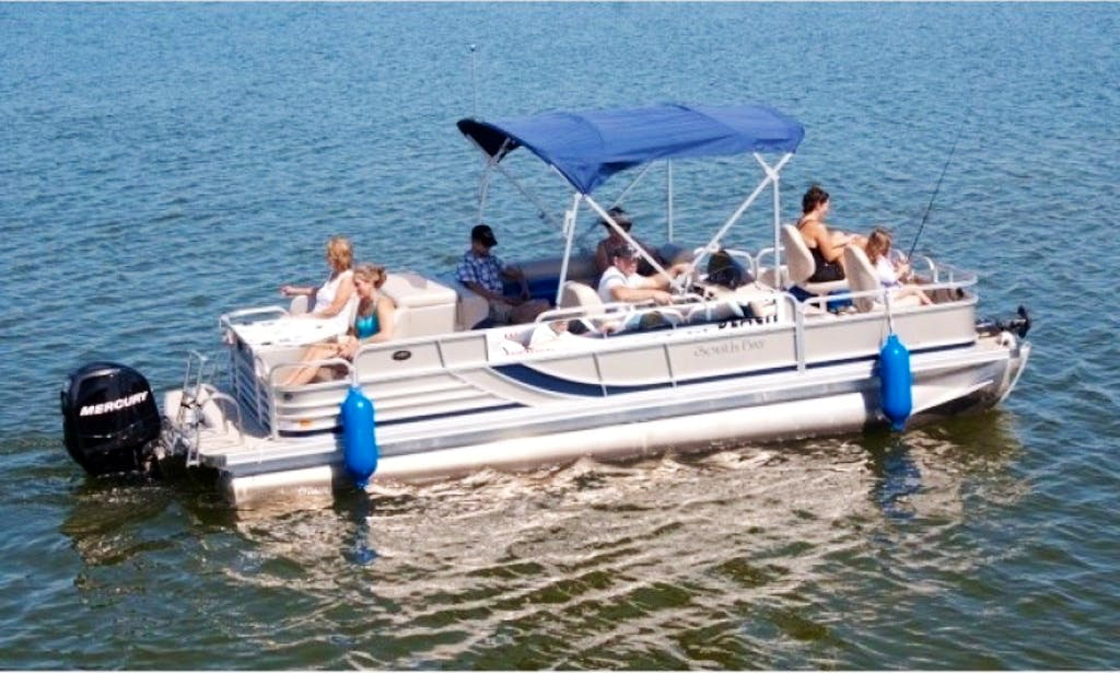 22' Pontoon with 75 hp to 90 hp Outboard in Walker, Minnesota