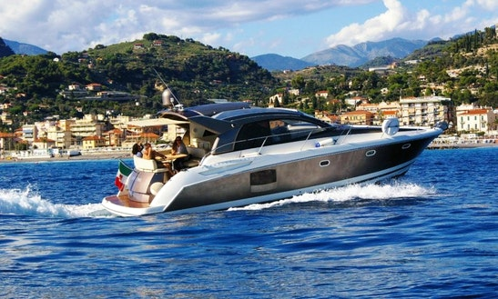 Charter 42' Jeanneau Prestige Motor Yacht In Bordighera, Liguria