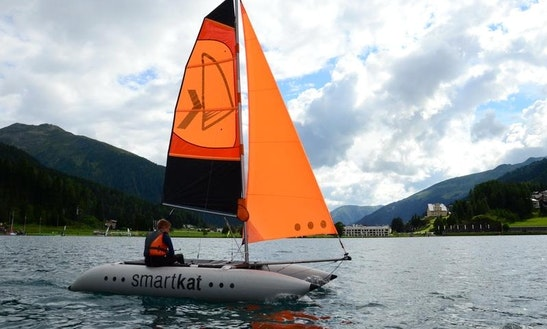 Rent A 14' Beach Catamaran In Davos Dorf, Graubünden