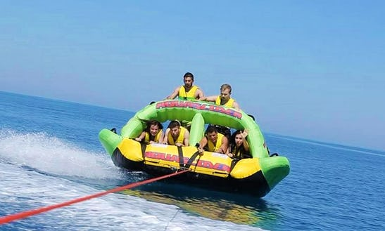 Enjoy Aquaslider Rides In Ouranoupoli, Chalcidice