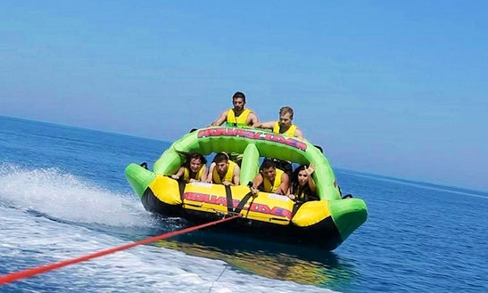 Enjoy Aquaslider Rides In Ouranoupoli, Chalcidice