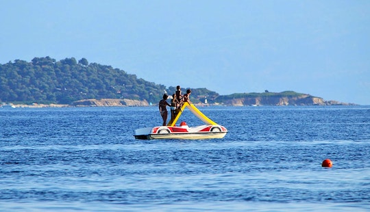 Rent A Paddle Boat In Ouranoupoli, Chalcidice