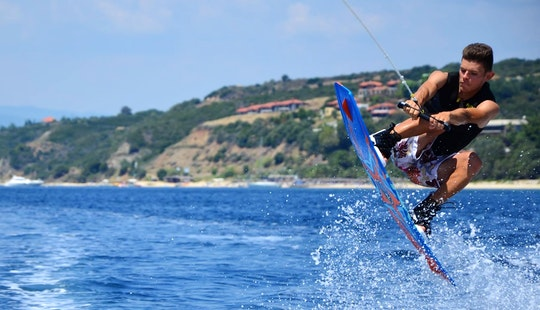 Enjoy Wakeboarding In Ouranoupoli, Chalcidice