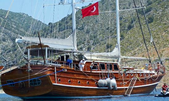 Charter 128' Kaptan Mehmet Bugra Gulet In Rome, Italy