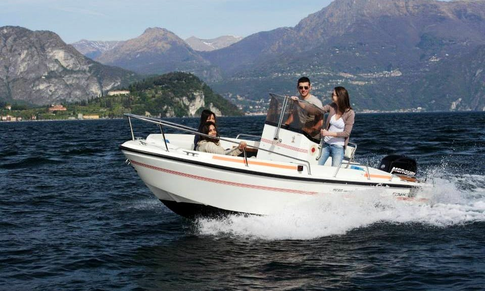 Fantastic Center Console for 6 Person in Lierna, Lombardia
