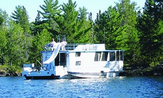 Rent The 44' Princess Houseboat In International Falls, Minnesota