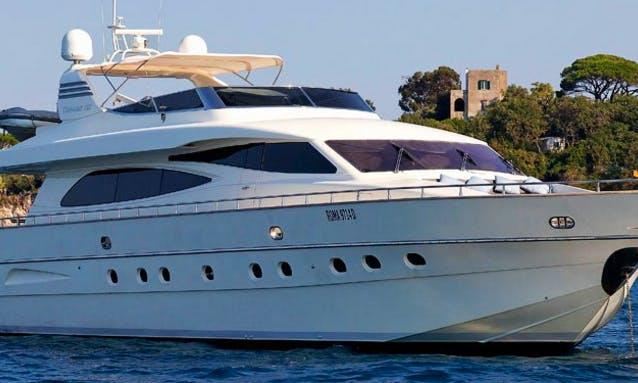 Charter 86' Minou Power Mega Yacht in Rome, Italy