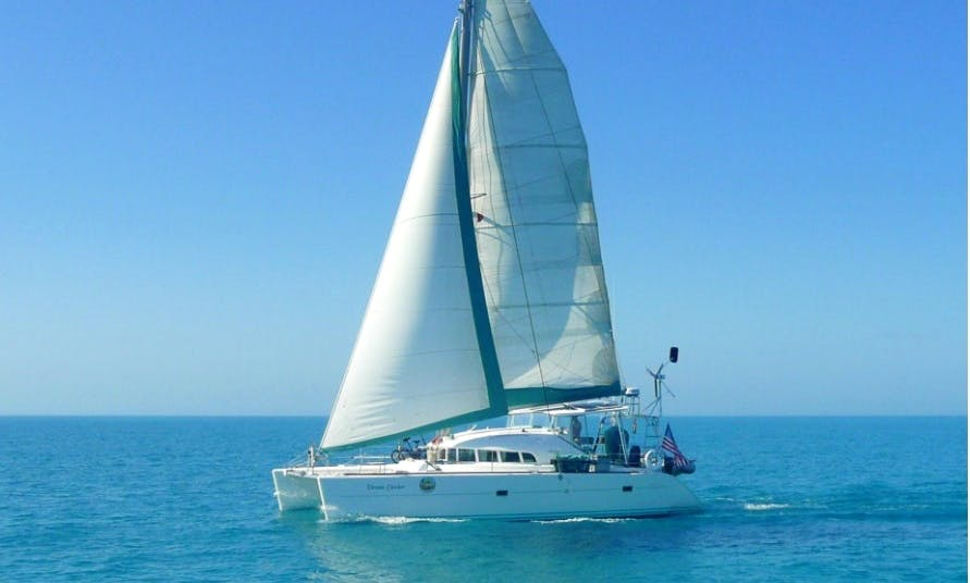 "Private Charter on 41ft ""Dream Catcher"" Lagoon 410 Sailing Catamaran in Vineyard Haven, MA"
