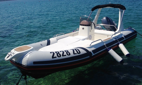 Explore Kvarner On Remia Plast Nautika Rp 16 Inflatable Boat