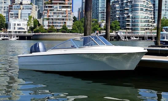 Rent The 17' Hourston Bowrider Boat In Vancouver