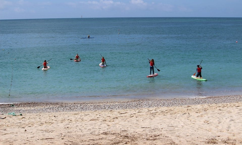 Enjoy Stand Up Paddleboard Lessons in Setubal, Portugal