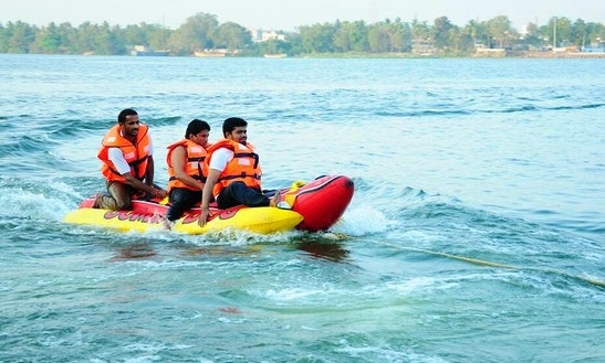 Enjoy Banana Boat Rides In Vijayawada, Andhra Pradesh