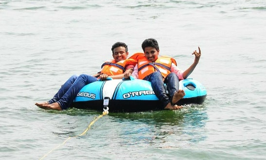 Enjoy Donut Rides In Vijayawada, Andhra Pradesh