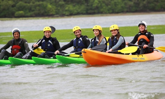 Enjoy Kayak Rentals And Lessons In Newquay, Cornwall