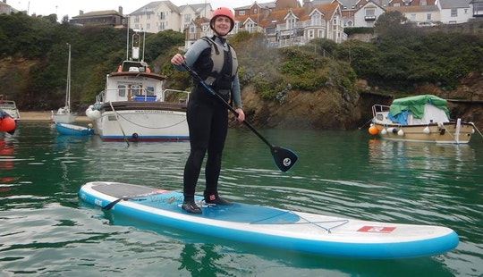 Stand Up Paddleboard Lessons And Rentals In Newquay, Cornwall
