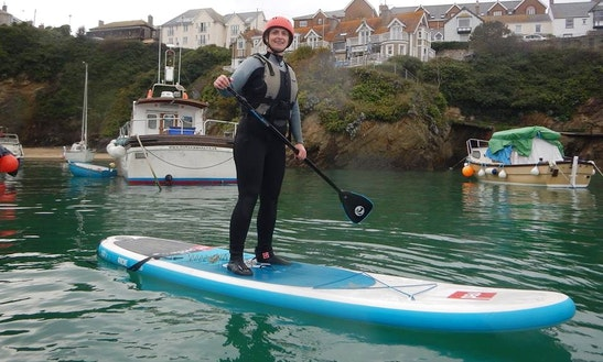 Enjoy Stand Up Paddleboard Lessons And Rentals In Newquay, Cornwall