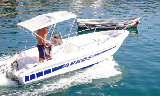 Rent 16' Center Console In Ligure, Italy
