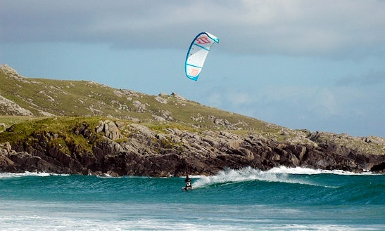 Enjoy Kitesurfing Lessons In Balevullin, Scotland