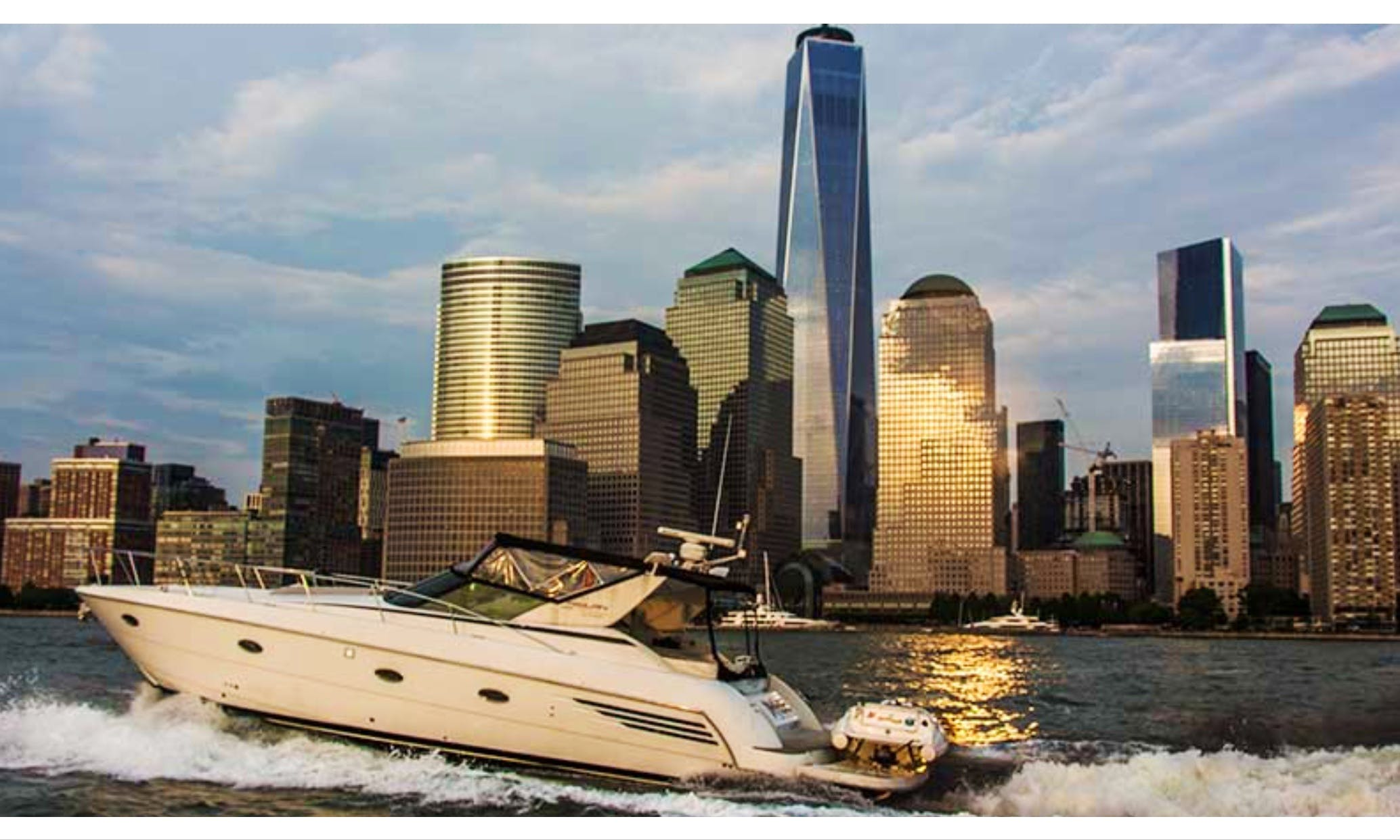 "Captained Charters on 48ft '' Yacht ""Imagine"" In Jersey City, New Jersey"