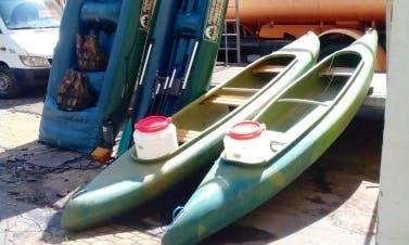Tukan Triple Kayak Rentals in Loket, Czechia