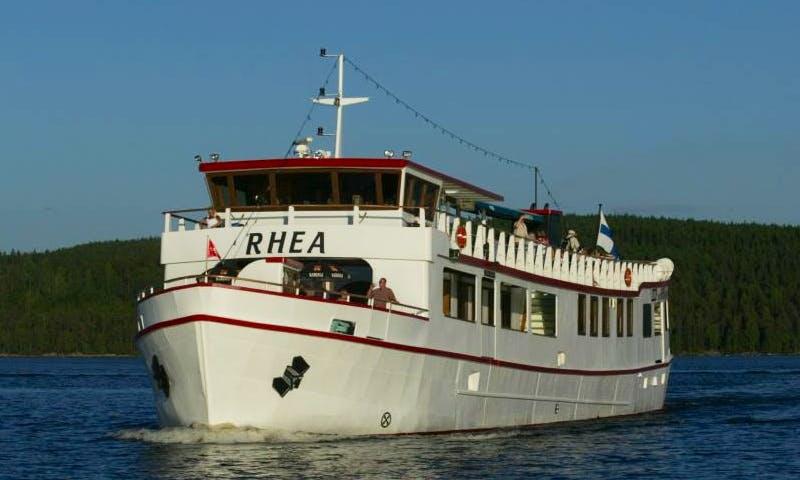 Enjoy sightseeing in Jyväskylä, Finland on 141' Passenger boat