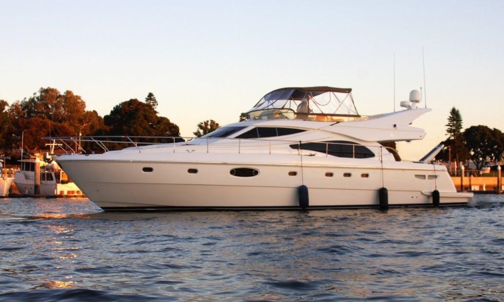 Captained Charter on 62' UNIQ Feretti Power Mega Yacht in Marina del Rey