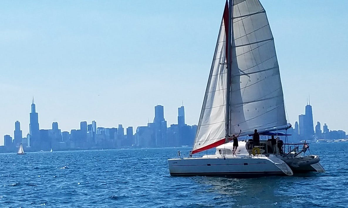 38' Cruising Catamaran Charter in Chicago, Illinois