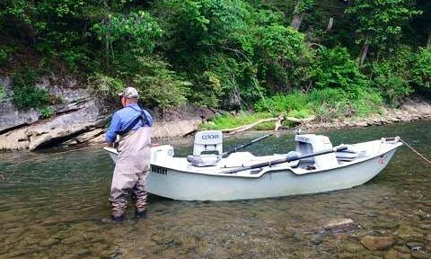 Guided Fly Fishing Trip in North Carolina Tennessee and Virginia with Jeff
