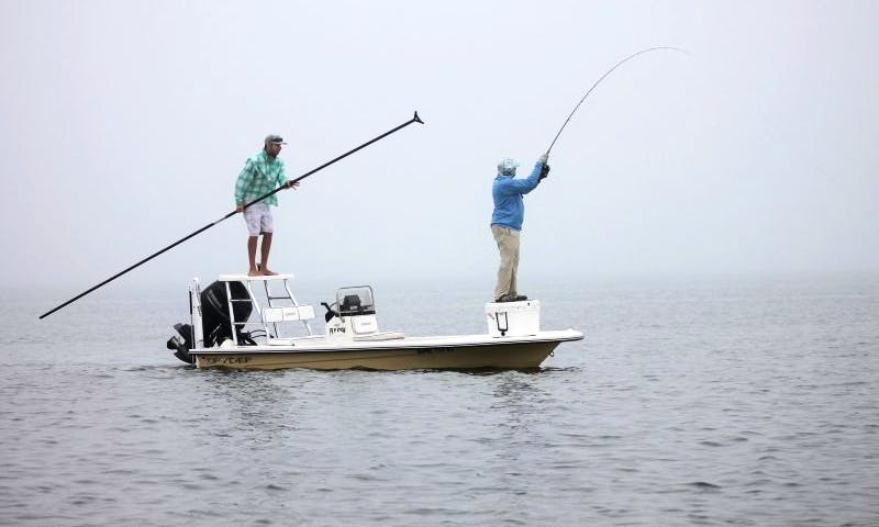 Guided Fly Fishing Trip in Rockport, Texas and Surrounding Waters